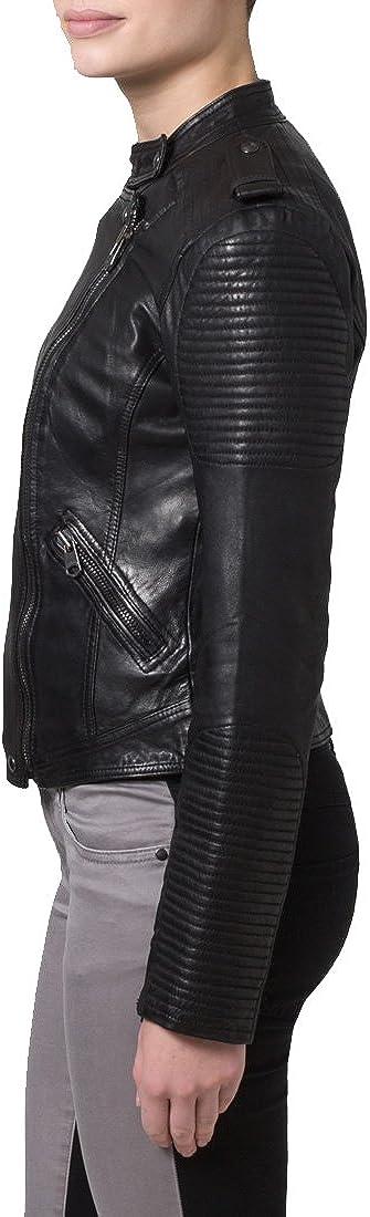 Brand New Genuine Soft Lambskin Leather Jacket For Womens Designer Wear XW084