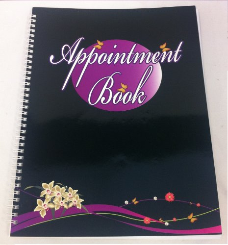 4 Column Appointment Book for Salons, Spas, and other Business (100 Pages)