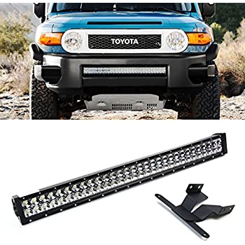 Amazon ijdmtoy 30 180w high power double row led light bar w ijdmtoy 30 180w high power double row led light bar w lower bumper mozeypictures Image collections