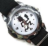 Happy New Year Gifts Wristwatches Nylon Band USFSP09 Rotating Bezel Sporty Watch Nylon - ICP Insane Clown Posse Juggalos Hatchet Man