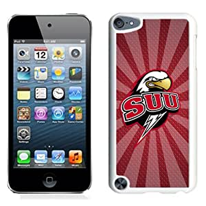 Fashion And Unique iPod Touch 5 Cover Case NCAA Big Sky Conference Football Southern Utah Thunderbirds 3 Protective Cell Phone Hardshell Cover Case For iPod Touch 5 White Phone Case