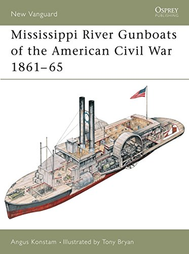 Mississippi River Gunboats of the American Civil War 1861–65 (New Vanguard)
