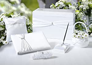 Wedding Gift Card Amazon : Amazon.com: Diamond Wedding 6-Piece Set in Gift Card Box - White: Home ...