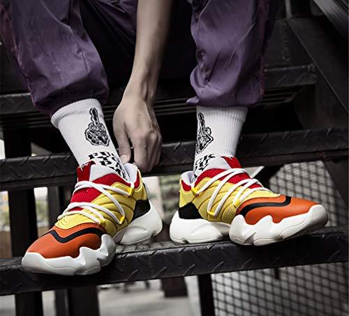 amp; Chaussures 44 New Hommes Cross Pied Fitness Yan Training Baskets Taille 2018 Pour Lacets Une À couleur Une Course De 7nwnxd