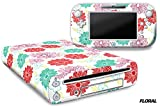 Designer Skin for Nintendo Wii U Console plus Controller Decal for: Wii U System – Floral Review