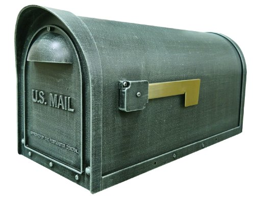 Classic Curbside Mailbox Finish: Verde Green