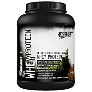 SSN Whey Protein (5lbs, Chocolate)