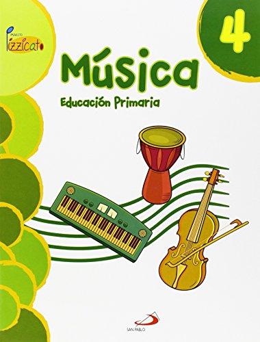 Descargar Libro Música 4 - Proyecto Pizzicato - Libro Del Alumno: Educación Primaria Vicente Gil Arráez