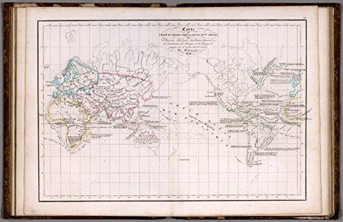 map-poster-letat-du-monde-vers-la-fin-du-xveme-siecle-1838-24x155