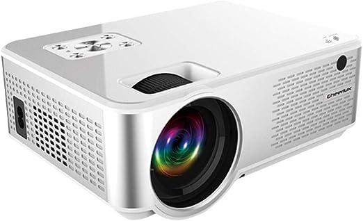 LayOPO Proyector Proyector Portátil Full HD 1080P Mini proyector ...