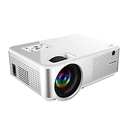 LayOPO Proyector Proyector Portátil Full HD 1080P Mini proyector ...