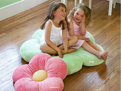 Girls Floor Pillow Bed as Reading Nook Cushion Decorative and Soft Gifts to Make her Smile