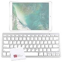 DURAGADGET Lightweight & Ultra-Portable Wireless Bluetooth Keyboard for iPad (2017) & Apple iPad Air, and Air 2