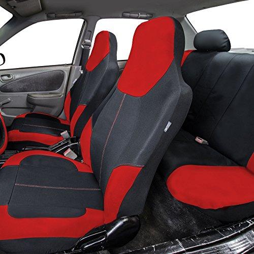 Amazon FH GROUP FB116115 Neo Modern Neoprene Seat Covers