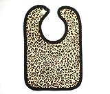 Babywearuk British Made Leopard Print Velcro Bib