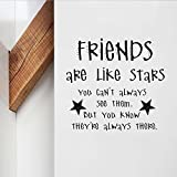 Best Are Like Stars Wall Stickers - trfhjh Quotes Wall Sticker Home Art Cute Nursery Review