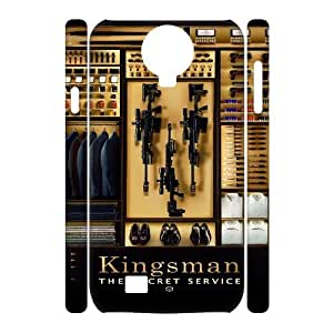 Cheap 3D SamSung Galaxy S4 I9500 Case, Kingsman The Secret Service New Fashion Phone Case