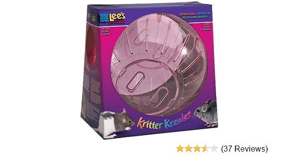 Lees Kritter Krawler Jumbo Exercise Ball, 10-Inch, (Random colors)
