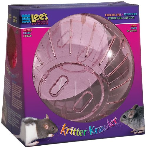 Lee's Kritter Krawler Jumbo Exercise Ball, 10-Inch, (Random colors)