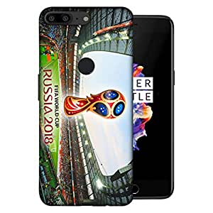 ColorKing OnePlus 5T Football Multicolor Case shell cover - Fifa Cup 07