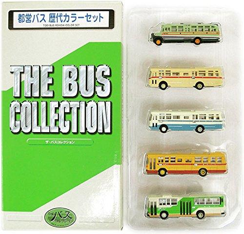 ニューホビー トミーテック バスコレクション(E001-E005) 都営バス 歴代カラーセットの商品画像