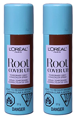 L'Oreal Paris Hair Color Root Cover Up Temporary Gray Con...