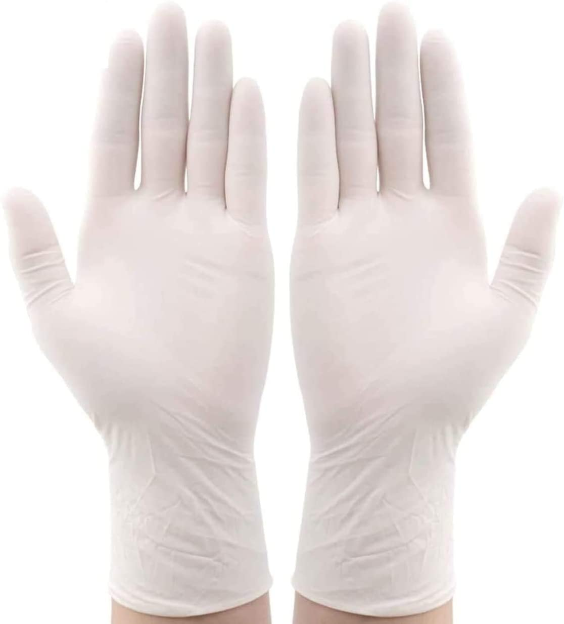 Amazon.com: Disposable Latex Gloves, Comfortable to Wear Cleaning Gloves  100Pcs Neutral (Medium): Health & Personal Care