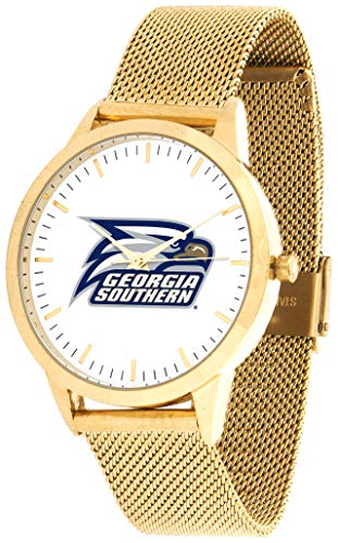 Georgia Southern Eagles - Mesh Statement Watch - Gold Band ()