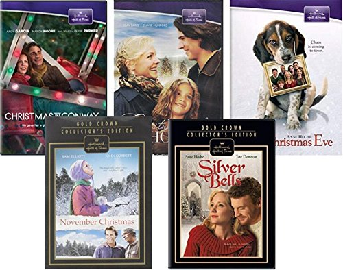 Hallmark Movies on DVD - Christmas in Conway/ One Christmas Eve/ Silver Bells/ November Christmas/ Christmas With Holly ()