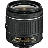 Nikon 18-55mm f/3.5 - 5.6G VR AF-P DX Nikkor Lens - International Version (No...
