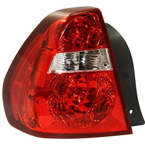 Chevrolet Malibu Tail - Tail Light for Chevrolet Malibu 04-08 Assembly Fwd Left Side