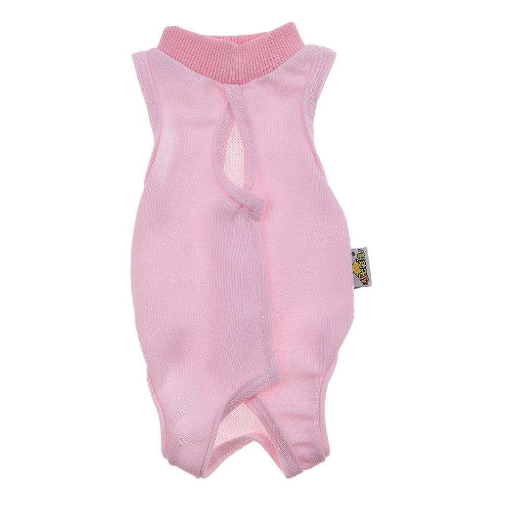 Baoblaze Recovery Suit Anzug für Katzen, die Wunden und Bandagen Ihrer Katze zu schützen