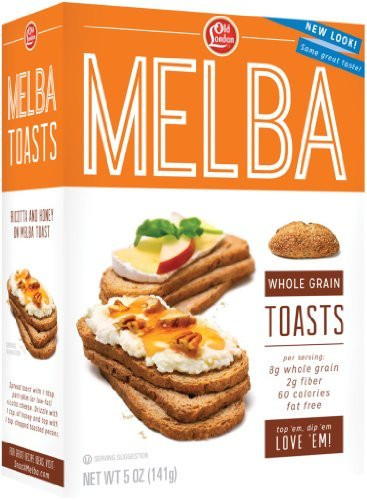 (Old London Melba Toasts, Whole Grain, 5 Ounce (Pack of 12) by Old London)