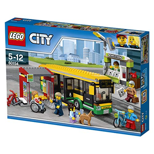 Town Bus - LEGO City Town - Bus Station