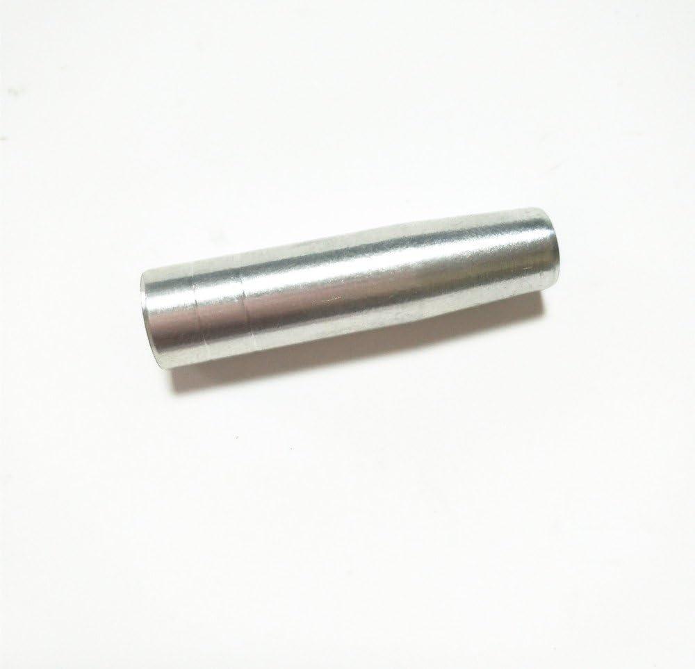 Insertos de aluminio de tiro con arco Puntera de eje de flecha Puntas de cabeza ancha atornilladas Conexi/ón de inserci/ón