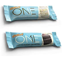 Oh Yeah! One Bar Variety Pack, Birthday Cake and Chocolate Birthday Cake, 12 Bars