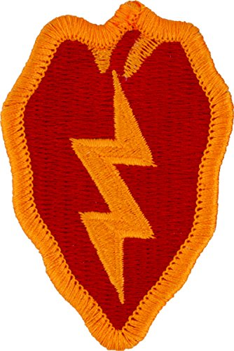 - 25th Infantry Division Patch (Full Color (Dress))
