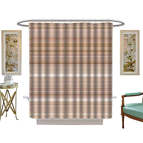 luvoluxhome Shower Curtains Waterproof Digital Tiles Design Wallpaper Design Fabric Bathroom Decor Set with Hooks W69 x L84 ()