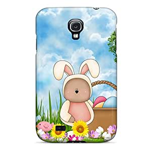 For Galaxy S4 Premium Tpu Case Cover Easter Bears Protective Case