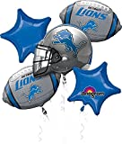 Anagram Bouquet Lions Foil Balloons, Multicolor