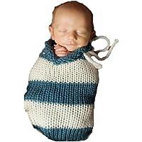 recién nacido Baby Girl/Boy Crochet Knit Costume Foto