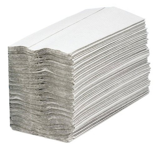 Q-Connect KF03802 One Ply 2work Hand Towel, White, Pack of 2880 Q Connect