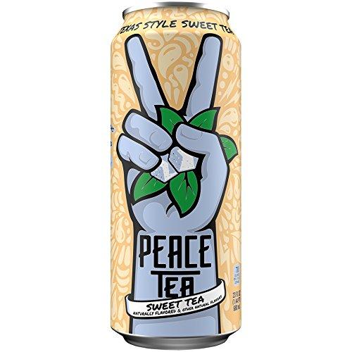 Peace Tea, Texas Style Sweet Tea, 23 Fluid Ounce (Pack Of 12) Coca Cola Ice