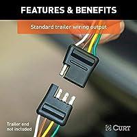 [DHAV_9290]  Amazon.com: CURT 55540 Vehicle-Side Custom 4-Pin Trailer Wiring Harness,  Select Chevrolet Express, GMC Savana 1500, 2500, 3500, 4500: Automotive | Chevrolet Express Trailer Wiring |  | Amazon.com