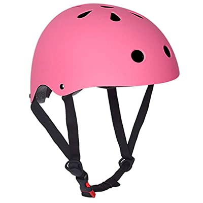 Ruiqas Kids Bike Helmet for Boys Girls, Adjustable Safety Helmet ABS Protective for Cycling Skating Climbing Longboard Scooter Skate Skateboard : Sports & Outdoors