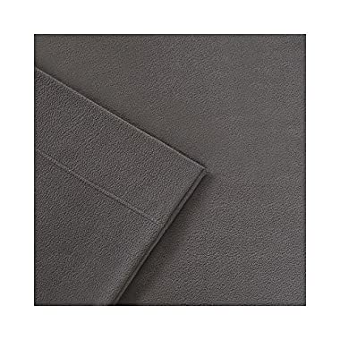 Peak Performance 3M Scotchgard Microfleece Sheet Set - Grey - Queen