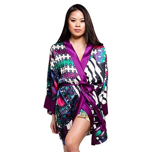 Silk Origami Silk Kimono by Royal Silk