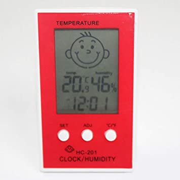 Thermomètre de bébé humidité, hygromètre numérique LCD pour ...