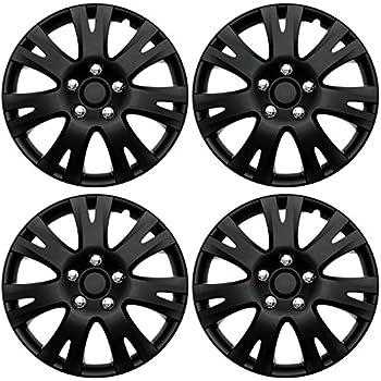 Amazon.com: ABS Plastic Aftermarket Wheel Cover Matte ...