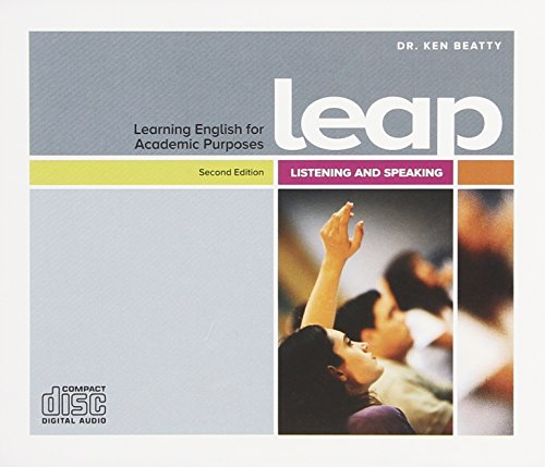 Learning English for Academic Purposes Classroom Audio CD (Learning Englisg for Academic Purposes)
